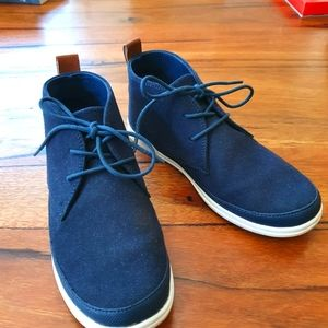 Ciao Boys Navy ankle dress boots